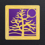 Gold - Violet Aluminum