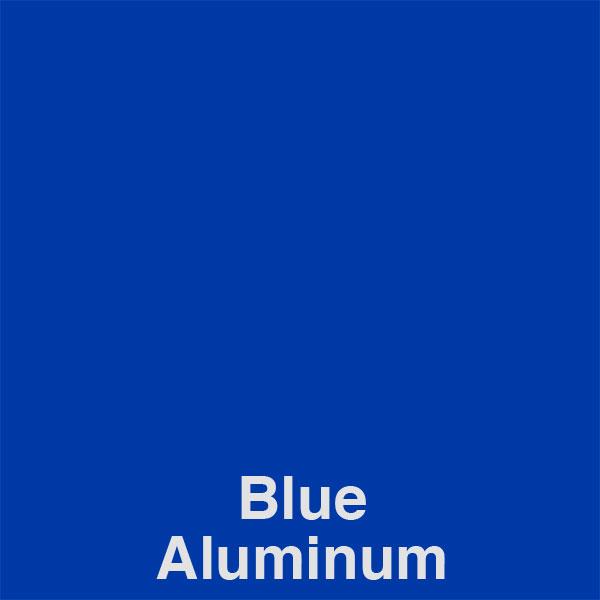 Blue Aluminum Color