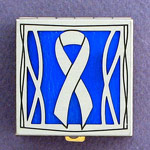 Blue Ribbon Pill Box