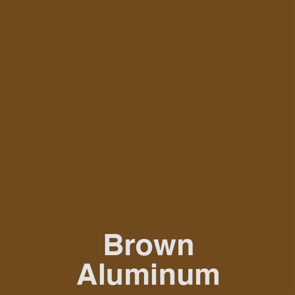 Brown Aluminum Color