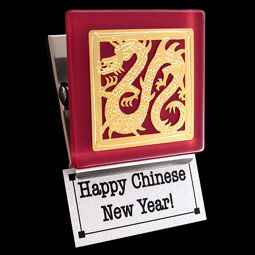 Chinese Dragon Magnet Gift for Chinese New Year