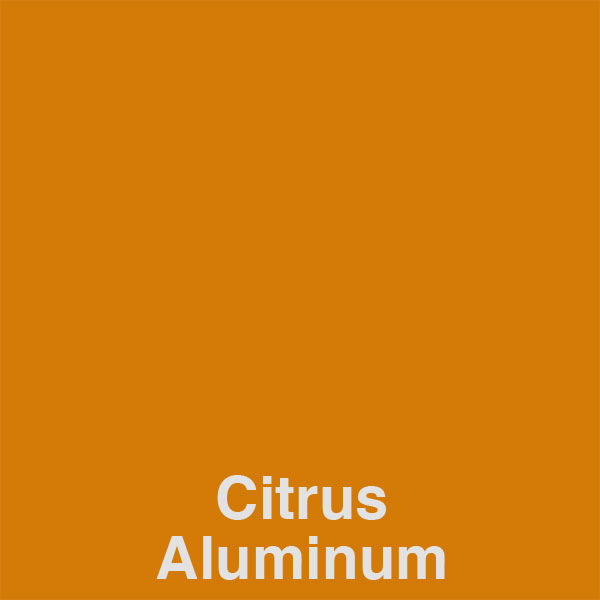 Citrus Aluminum Color