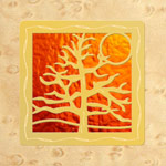 Maple - Gold - Orange Glass