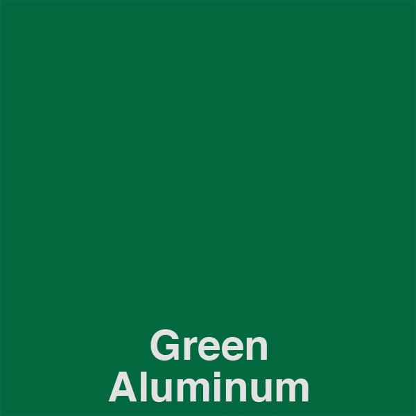 Green Aluminum Color