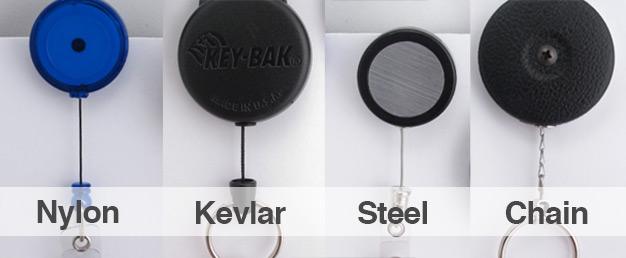 Badge Reel Cord Types