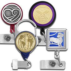 Decorative Badge Reel Styles