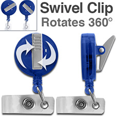 Swivel Clip Reels Rotate Any Direction