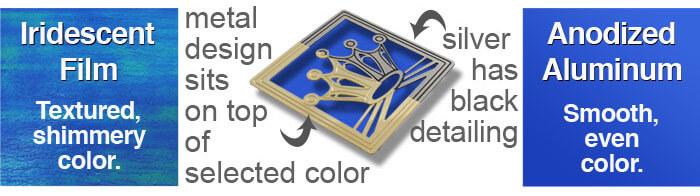 Kyle Design's color examples - film & aluminum