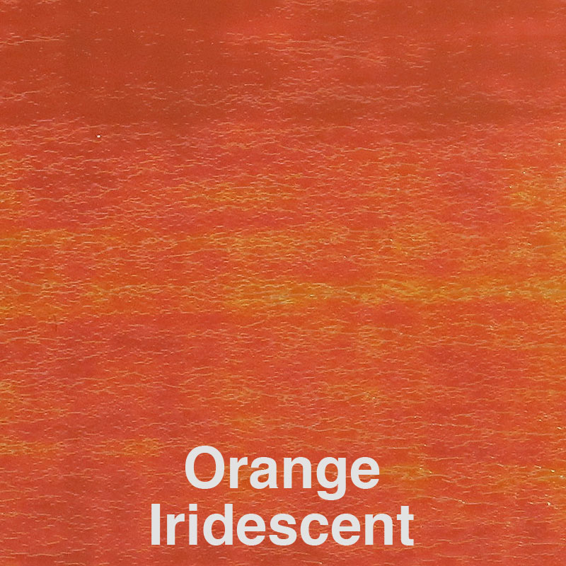 Orange Iridescent Color