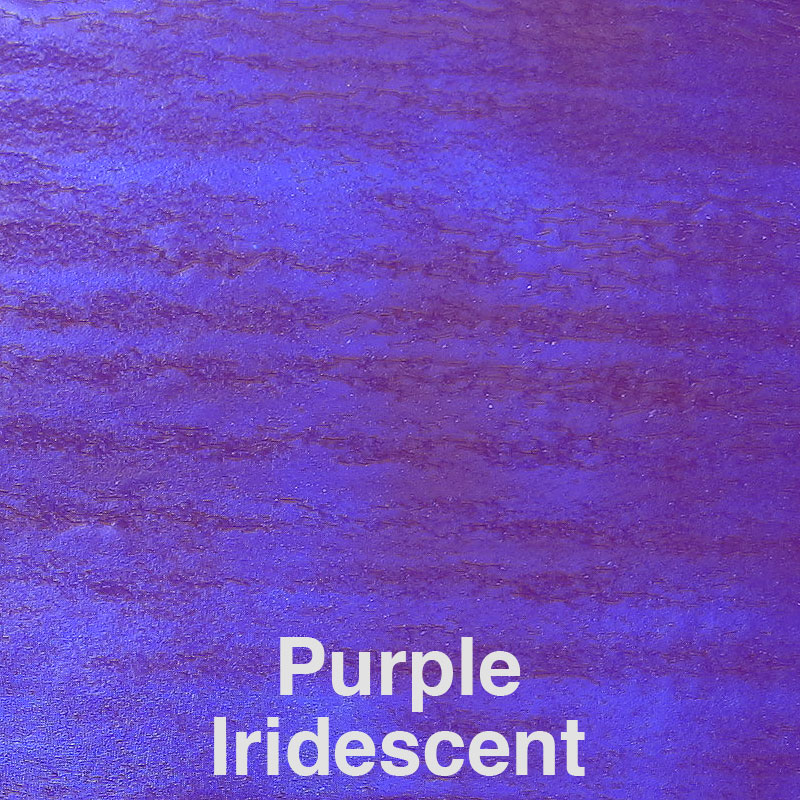 Purple Iridescent Color