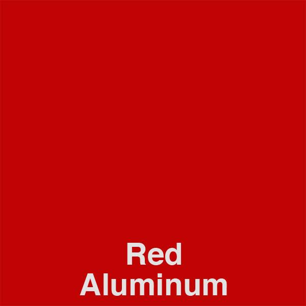 Red Aluminum Color