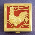 Chinese New Year 2017 Gift Rooster Pill Box