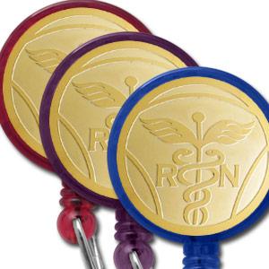 Round Design Badge Color Options