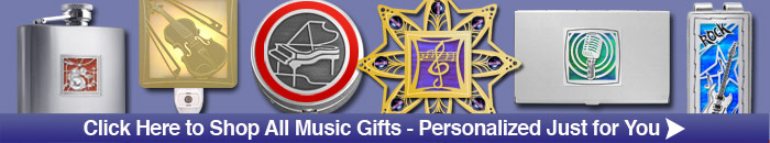 Unique Music Themed Gifts