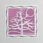 Silver - Lavender Iridescent