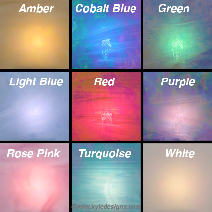 Stained Glass Color Examples