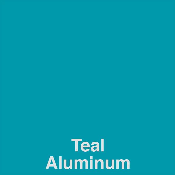 Teal Aluminum Color