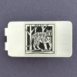 Chinese New Year Gift 2022 Tiger Money Clip