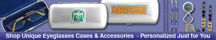 Eyeglass Chains - 500 Personalized Glasses Case Designs