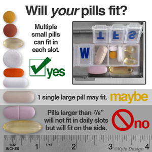 Weekly Pill Organizers