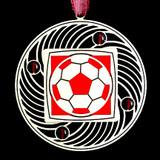 Personalized Soccer Balls Ornaments