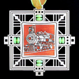 Train Personalized Christmas Ornaments