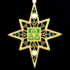 Shamrock Custom Christmas Ornaments