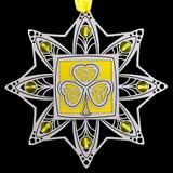 Shamrock Christmas Ornament