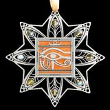 Egyptian Eye Christmas Ornaments