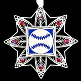 Baseball Christmas Tree Ornaments