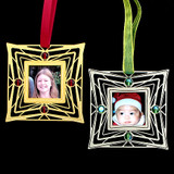 Personalized Holiday Ornament Picture Frame