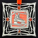 Hockey Skate Christmas Ornaments