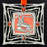 Hockey Skate Christmas Ornaments