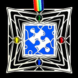 Autism Awareness Ornaments