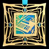 Adding Machine Ornament for Accountant