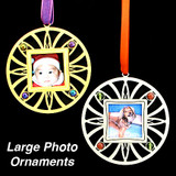 Snapshot Holder Christmas Ornaments