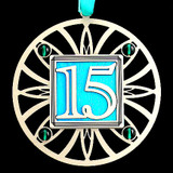 15 Year Recognition Ornament