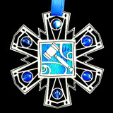 Judge's Gavel Ornament