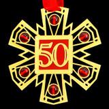 50th Birthday Ornament