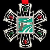 Gun Christmas Ornament