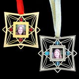 Xmas Tree Ornaments with Photo Frames