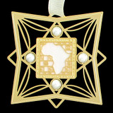 African Continent Ornaments