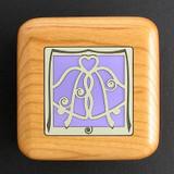 Wedding Bells Custom Engagement Ring Box