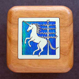 Unicorn Wooden Engagement Ring Boxes