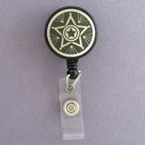 Sheriff Star Retractable I.D. Badge Holders