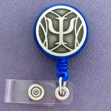 Unique Psychologist Retractable ID badge holder reels are customized just for you.