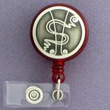 Dollar Symbol ID Badge Holders