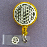 Flower of Life ID Badge Holders