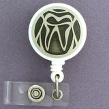 Dentist Tooth Retractable Name I.D. Badge Holders