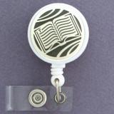 Book Lover ID Badge Reel